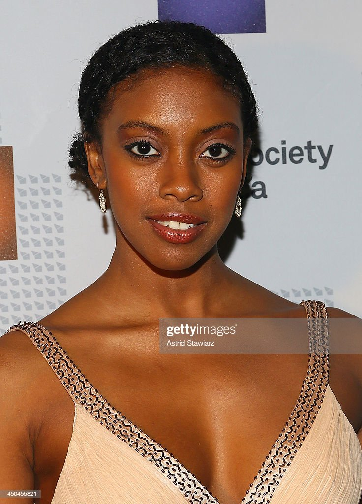 Condola Rashad attends the CSA 29th Annual Artios Awards Ceremony at XL Nightclub on November 18 2013 in New York City