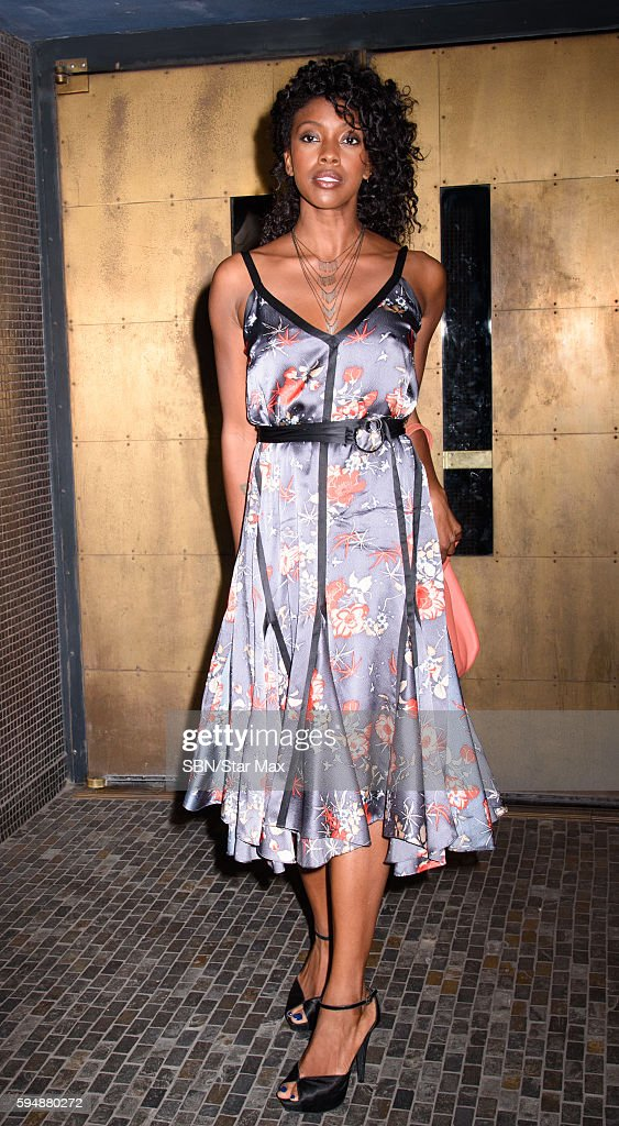 Condola Rashad is seen on August 24 2016 at a screening of 'Southside For You' in New York City