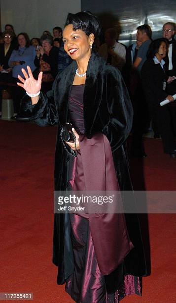 Condoleeza Rice during The 27th Annual Kennedy Center Honors at The John F Kennnedy Center for the Performing Arts in Washington District of Columbia...