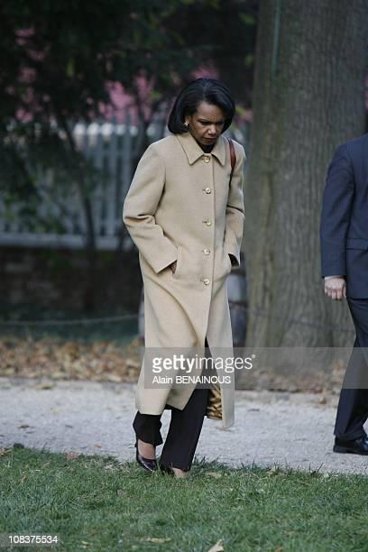 Condoleezza Rice in Mount Vernon United States on November 07th 2007