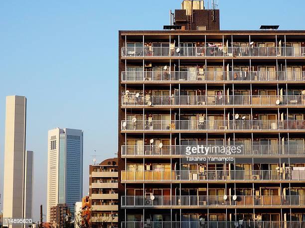 Condominium building in Tokyo
