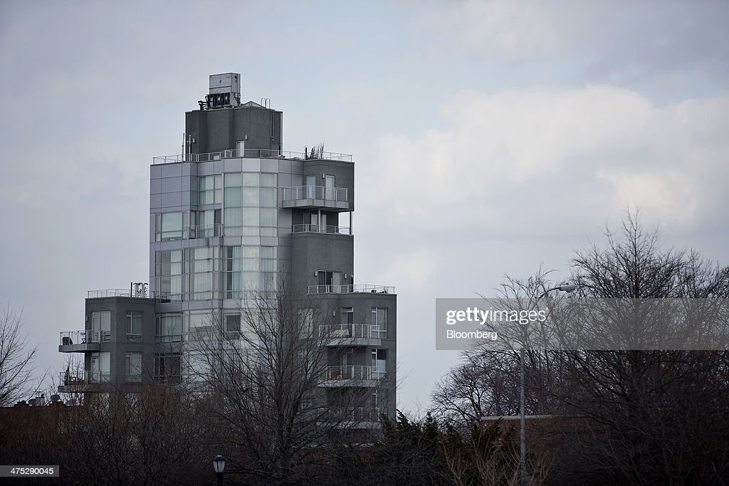 A condominium stands on the edge of McCarren Park in the Brooklyn borough of New York, U.S., on Tuesday, Feb. 25, 2014. Home prices in the U.S. climbed at a slower pace in the year through December, pointing to a moderation in the market that will help keep more properties within reach for prospective buyers. Photograph: Victor J. Blue/Bloomberg via Getty Images