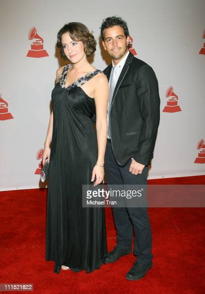 Conductor Alondra de la Parra and guest attend the 2008 Latin Recording Academy Person of the Year Tribute to Gloria Estefan held at George R Brown...