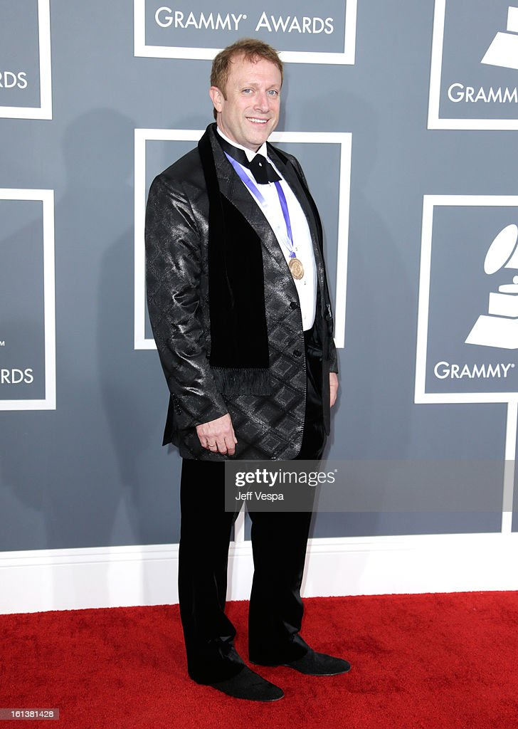 Conductor Charles Bruffy attends the 55th Annual GRAMMY Awards at STAPLES Center on February 10, 2013 in Los Angeles, California.