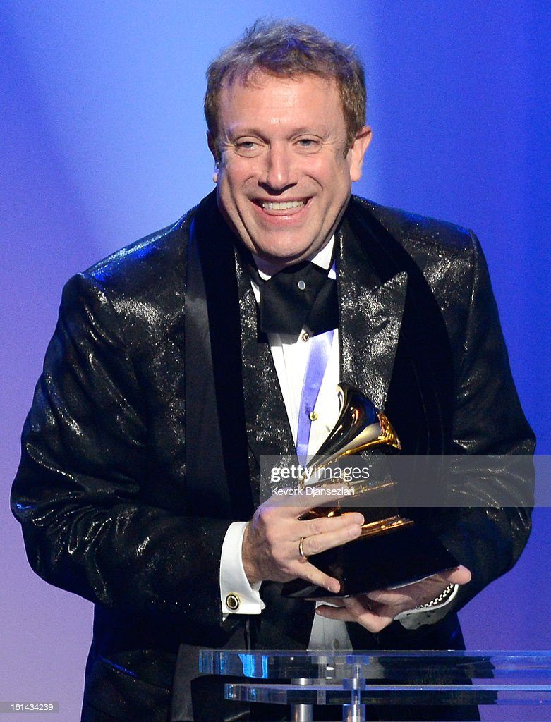 Conductor Charles Bruffy, winner of Best Engineered Album, Classical, onstage at the The 55th Annual GRAMMY Awards at Staples Center on February 10, 2013 in Los Angeles, California.