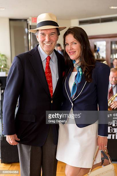 Conductor Gary S Greene and Actress Kira Reed Lorsch attend The Thalians Presidents Club Anchors Away Brunch at the California Yacht Club on June 5...