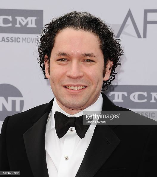 Conductor Gustavo Dudamel attends the 44th AFI Life Achievement Awards gala tribute at Dolby Theatre on June 9 2016 in Hollywood California