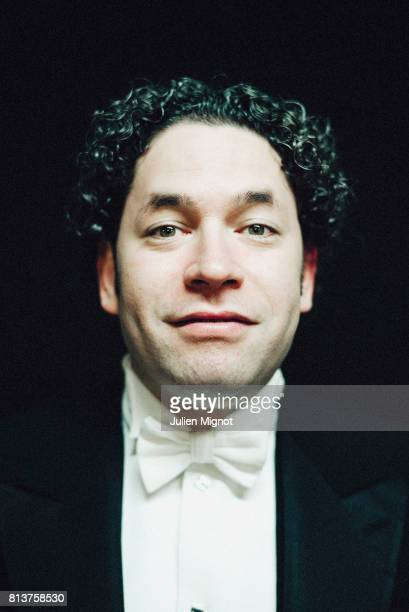 Conductor Gustavo Dudamel is photographed for Self Assignment on March 19 2016 in Paris France