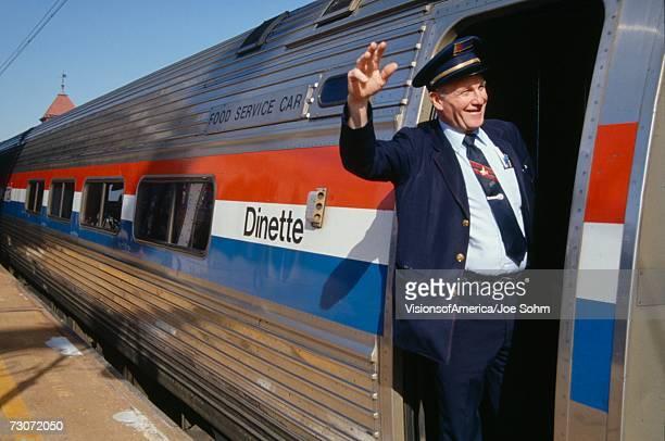 'Conductor of Amtrak, Wilmington, Delaware'
