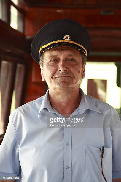 Conductor of Sargan Eight tourist train