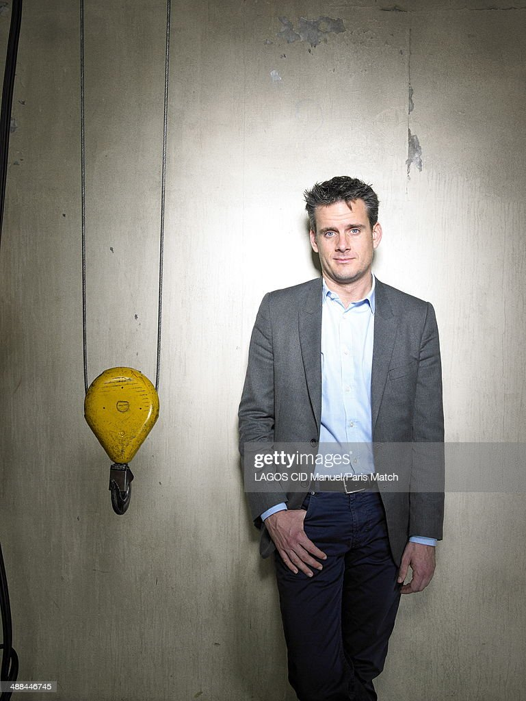 Conductor, Philippe Jordan is photographed for Paris Match on April 17, 2014 in Paris, France.