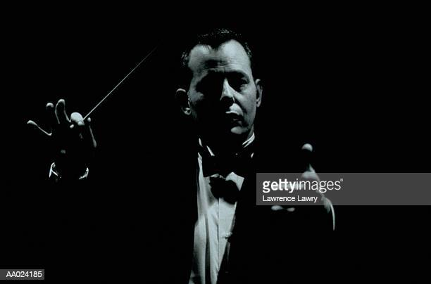 Conductor with a Conductor's Baton