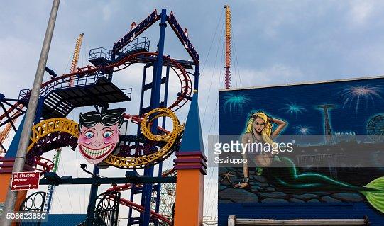 Coney Island, NYC : Stock Photo