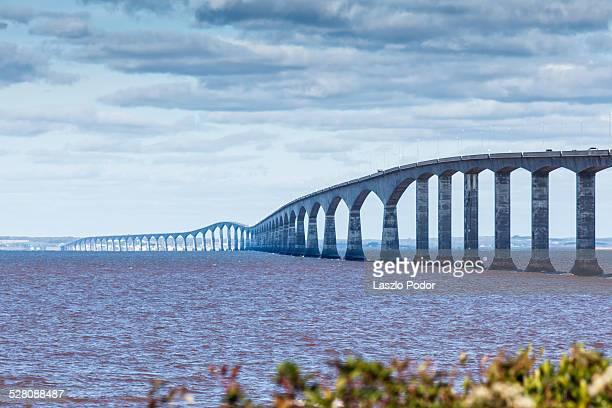 Confederation Bridge from New Brunswick to Prince