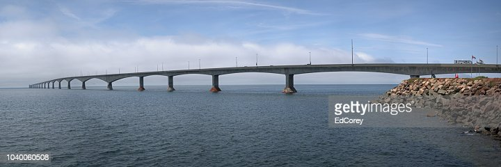 Confederation Bridge : Foto stock