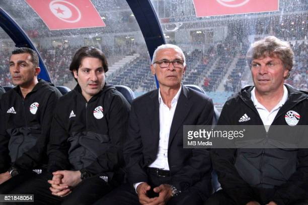Confederation of African Football World Cup Fifa Russia 2018 Qualifier / 'nEgypt National Team Preview Set 'nHector Raul Cuper 2r and his Staff DT...