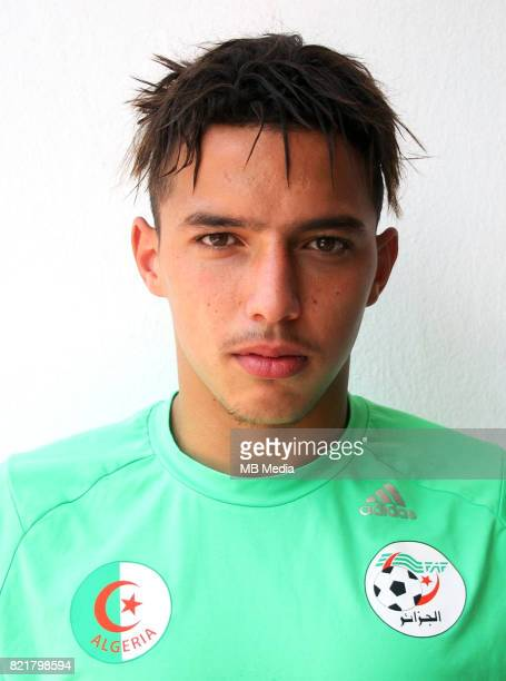 Confederation of African Football World Cup Fifa Russia 2018 Qualifier / 'nAlgeria National Team Preview Set 'nIsmael Bennacer
