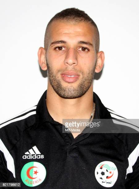 Confederation of African Football World Cup Fifa Russia 2018 Qualifier / 'nAlgeria National Team Preview Set 'nIslam Slimani