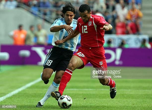 Argentina vs Tunisia Argentina won 21 Mario Santana and Jawhar Mnari