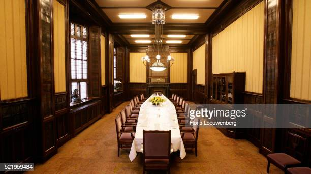 Conference room at the Grand Hotel Amrath