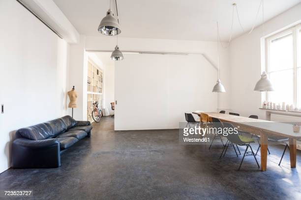 Conference room in a loft