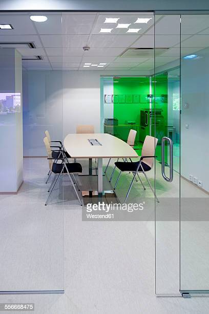 Conference room in a modern building