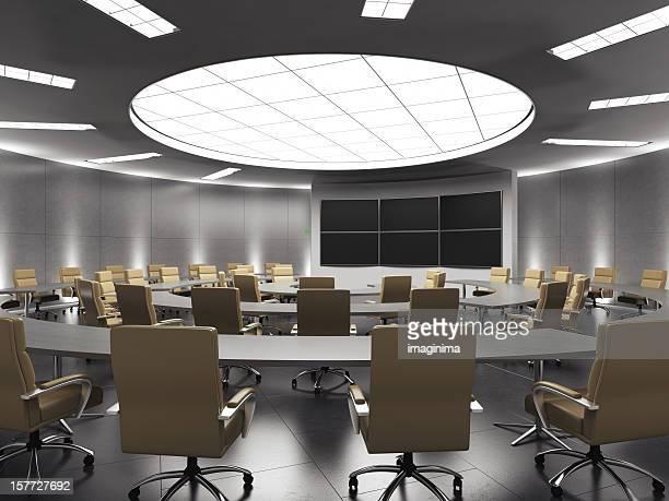 Konferenzraum mit Clipping Path