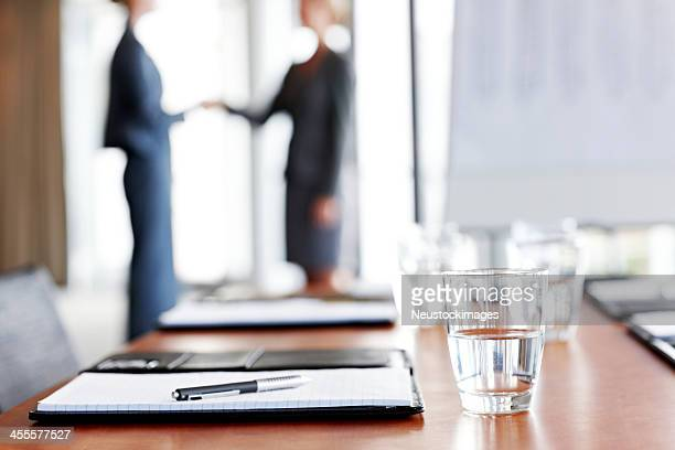 Conference Table in an Office