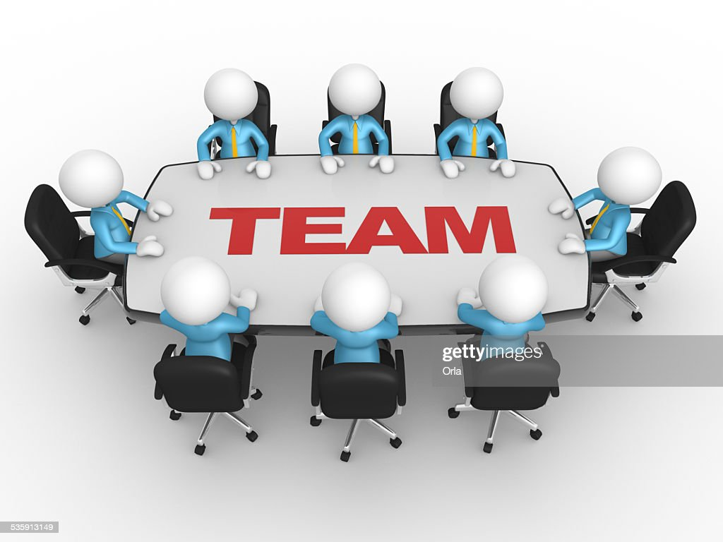 Conference table : Stock Photo