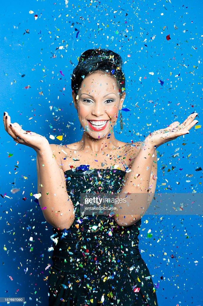 Confetti Party! : Stock Photo