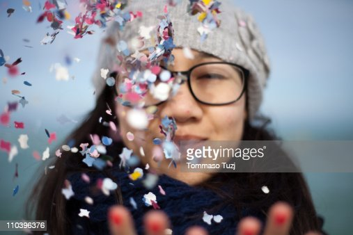 Confetti : Stock Photo