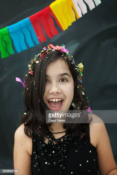 Confetti teenager