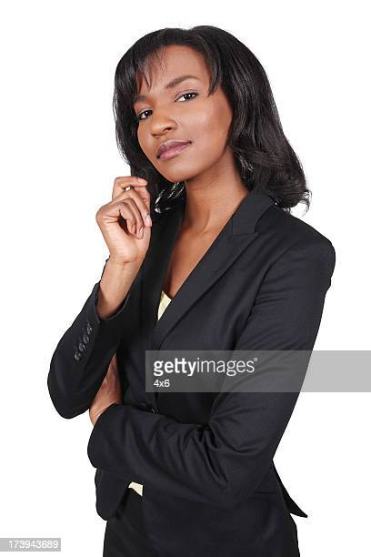 Confident African American Corporate Business Woman