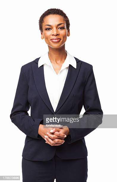 Confident African American Female Executive - Isolated