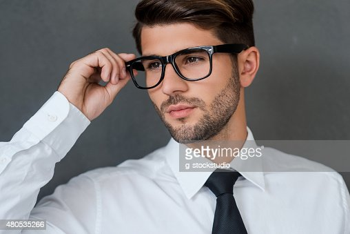 Confident and handsome. : Stock Photo