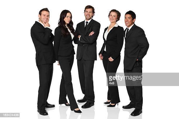 Selbstbewusst und glückliche junge business-team