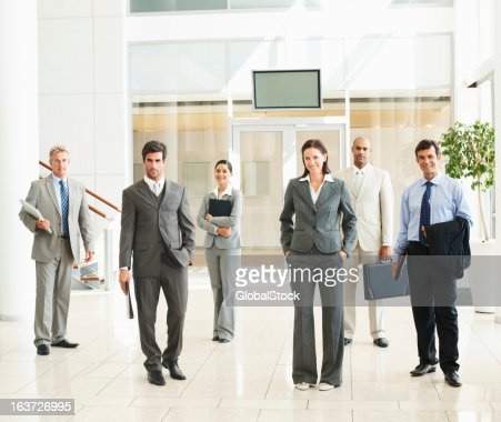 Confident and successful business people : Stock Photo