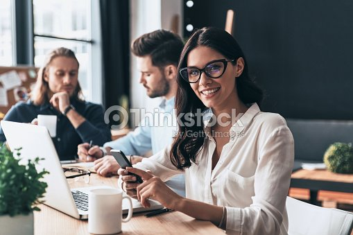 Confident and successful. : Stock Photo