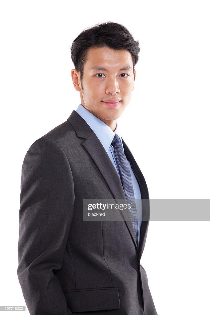 Confident Asian Businessman : Stock Photo