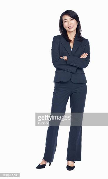 Confident business woman