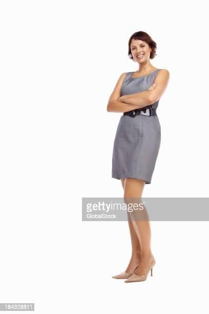 自信を持ってビジネスの女性