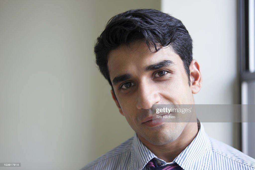 Confident businessman, portrait : Stock Photo