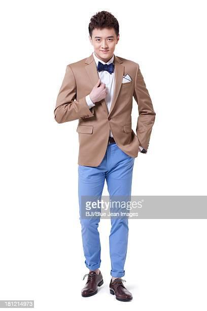Confident businessman stylishly dressed