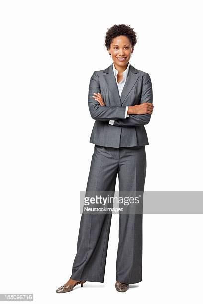 Confident Businesswoman - Isolated