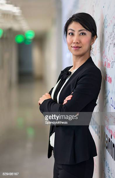 Confident Businesswoman looking at camera