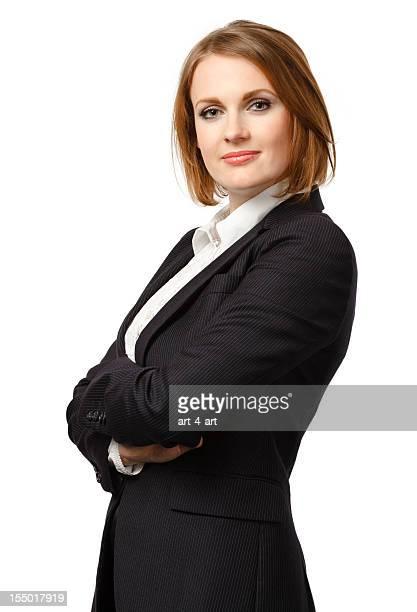 Confident Businesswoman Portrait - Isolated