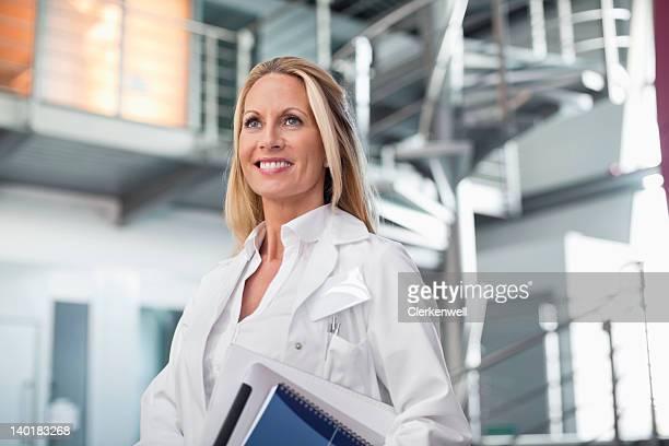 Zuversichtlich Arzt