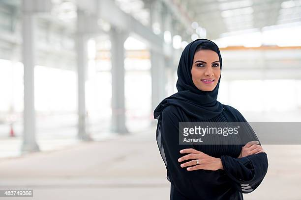 Confident Emirati Businesswoman