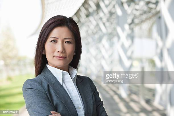 Confident Female Executive