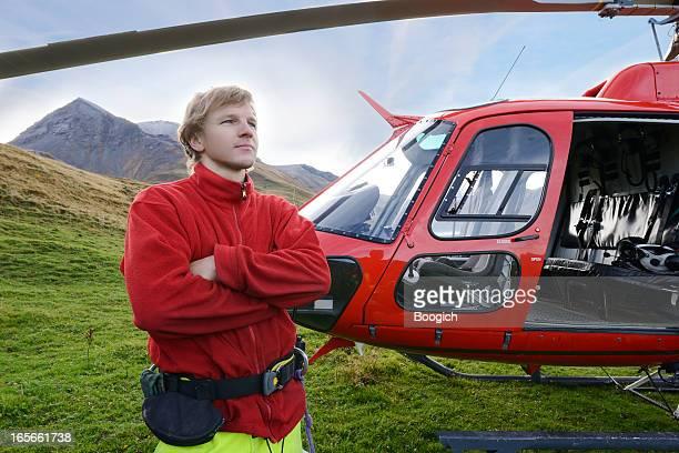 Helicopter Pilot in der Schweiz